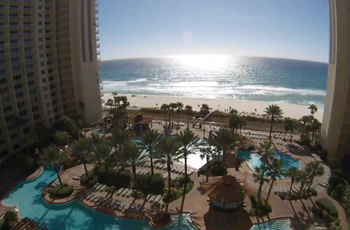 The BEST webcam in Panama City Beach right here at Shores of Panama - Live 24/7 in High Definition